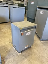 Image for 15 KVA 480 Delta Primary  208Y/120 Secondary , General Electric, dry type, #MT9501