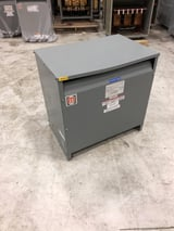 Image for 45 KVA 480 Delta Primary, 208 Y/120 Secondary, Square D, dry type, #MT9312