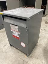 Image for 45 KVA 480 Delta Primary, 208 Y/120 Secondary, Square D, dry type, #MT9876