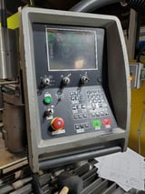 """Image for 143 Ton, Amada #HFE-1304, CNC hydraulic press brake, 5-Axis Back Gauge, 13' overall, 149"""" between housing, 2000 (2 available)"""