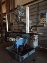 """Image for Vanguard #SM-7VSLV/F, vertical turret mill, 14"""" x60"""" table, 7.5 HP, 2-Axis digital read out, power draw bar, 2012"""
