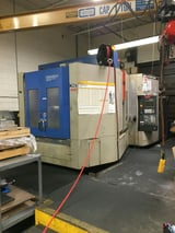 Image for Hitachi-Seiki #HS630, 3-Axis CNC horizontal machining center, coolant thru spindle, 60 automatic tool changer, #50 taper, Sigma 10m Fanuc 16iM, 2000