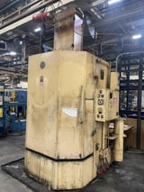 """Image for Better Eng. #400LXP, 47"""" table diameter, 60"""" inside hght, 2000 lb., rotary table parts washer, 1995, #14816"""