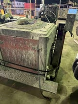 Image for Morgan, hydraulic tilt transite box furnace with stand, no hydraulic pump, 15 turns