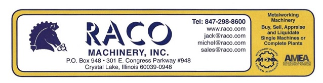 Raco Machinery Inc