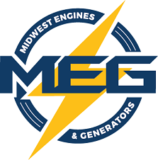 Logo for Midwest Engines & Generators