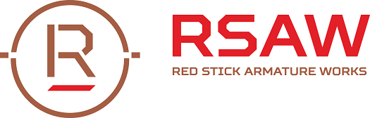 Red Stick Armature Works logo