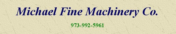 Michael Fine Machinery Co. logo