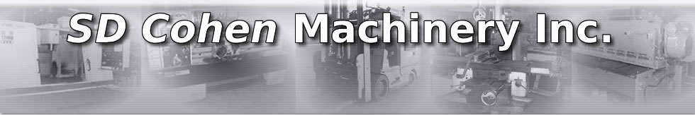 S D Cohen Machinery Ltd logo