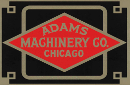 Logo for Adams Machinery Co