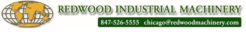 Redwood Industrial Machinery logo