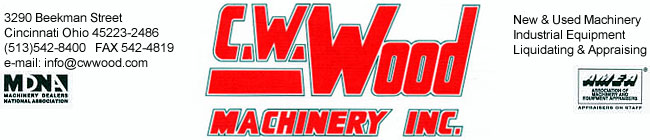 C.W. Wood Machinery Inc logo