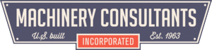 Logo for Machinery Consultants Inc