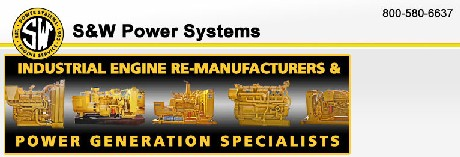 S & W Power Systems & Engine logo
