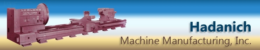 Hadanich Machine Mfg., Inc. logo