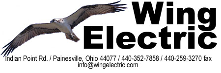 Logo for Wing Electric Inc.