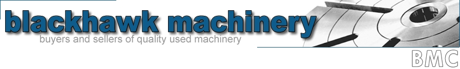 Blackhawk Machinery Corp logo