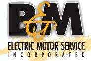 B & M Electric Motor Service Inc logo