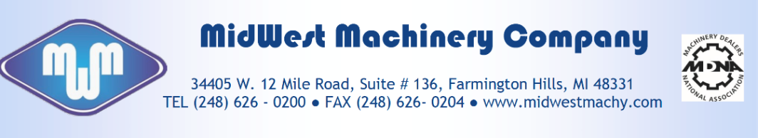 Midwest Machinery LLC logo