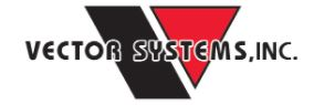 Logo for Vector Systems Inc